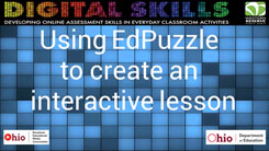 Using EdPuzzle to Create an Interactive Lesson