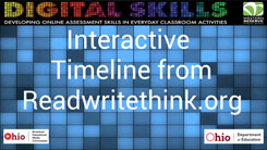 Interactive Timeline from readwritethink.org