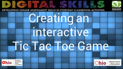 Creating an Interactive Tic Tac Toe Game