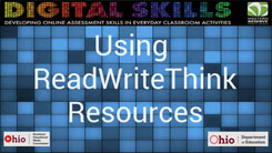 Using ReadWriteThink Resources